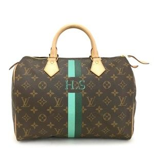LIKE-NEW: Louis Vuitton. Monogram Speedy 30 Bag